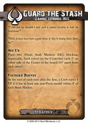 Gaining Grounds 2015 Strategy Card - Guard the Stash