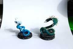 Rattler and zee Dragon