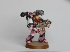 Emperor's Children Chaos Space Marine Brightpath Iron Painter 2016 Pretty in Pink