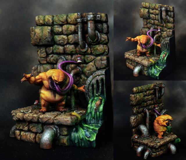 Low Down and Dirty Iron Painter Toadpainting